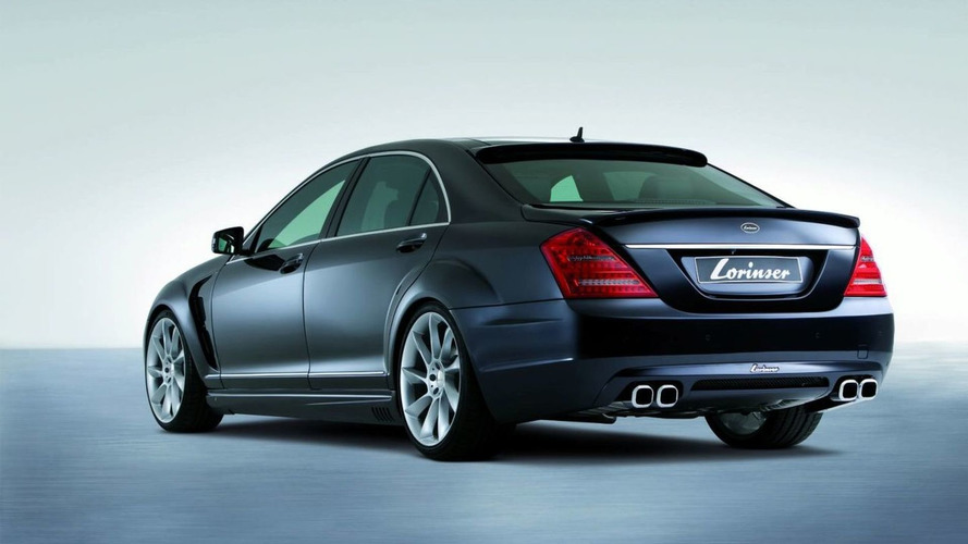 New Lorinser Aerokit for 2010 Mercedes S-Class Facelift