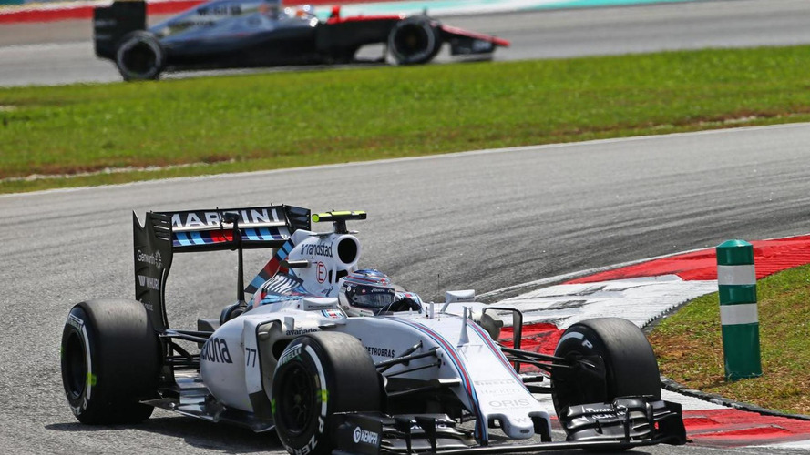 Williams working to cool 2015 car