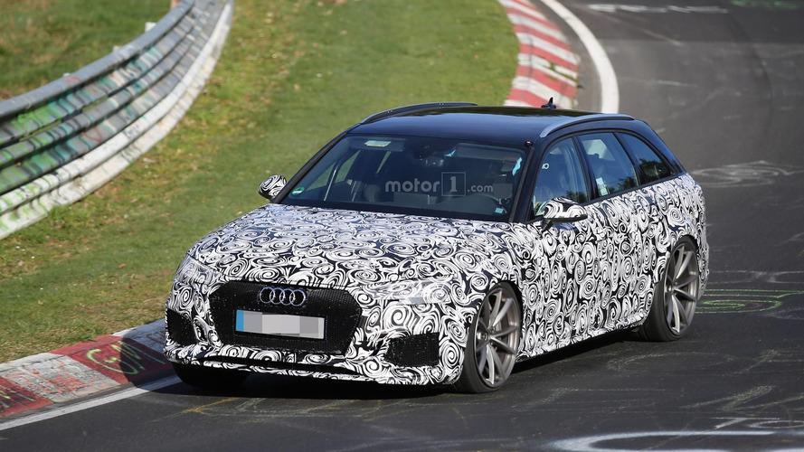 Spyshots - La nouvelle Audi RS4 en préparation