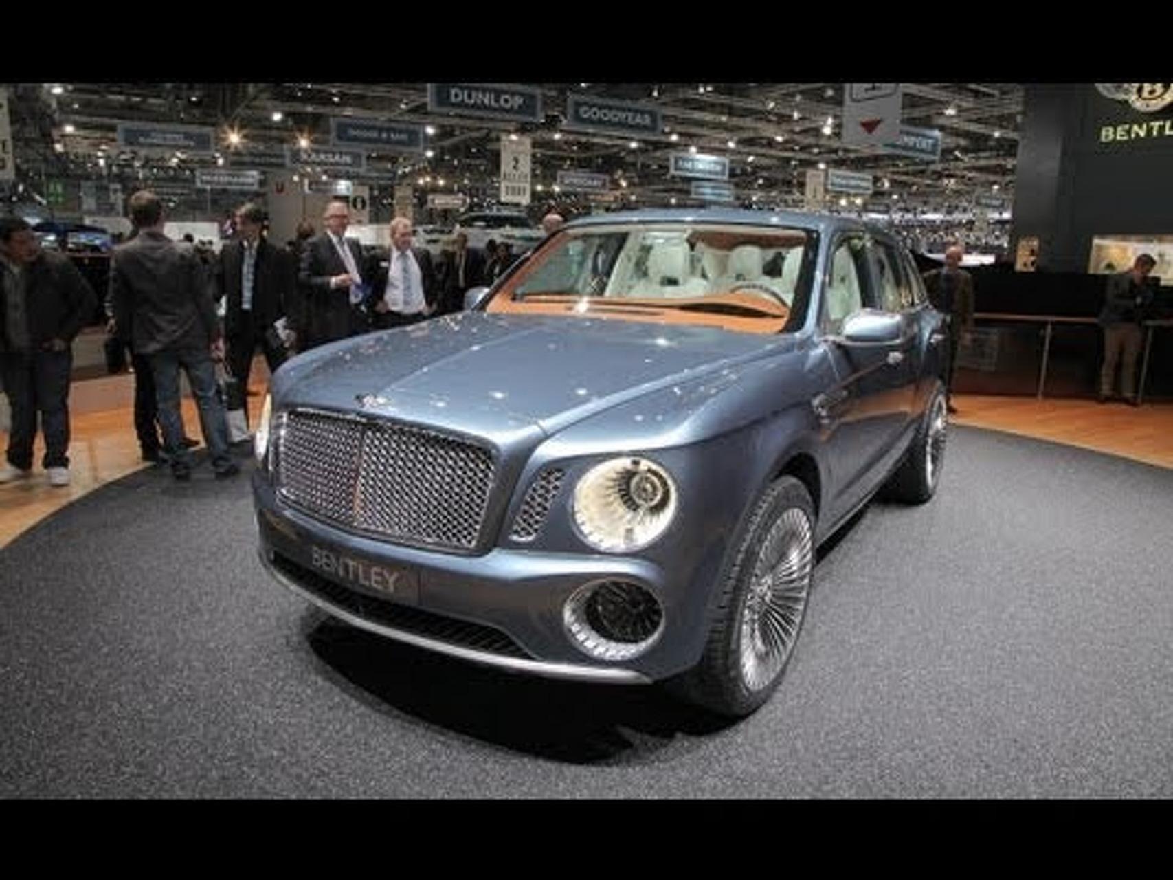 Bentley EXP 9 F Concept @ 2012 Geneva Auto Show