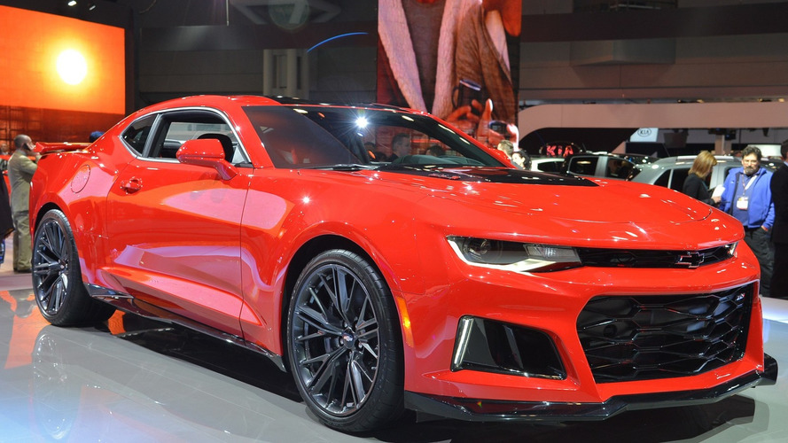 Chevy Camaro ZL1 brings 640 hp to the Big Apple