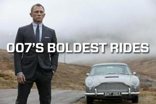 Dr. No to Skyfall: The Boldest Rides of James Bond