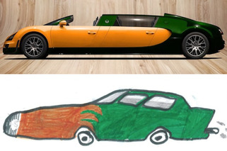 9-Year-Old Dreams Up a Bugatti Limo Concept
