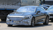 Mercedes-AMG S63 Coupe Facelift Spy Shots