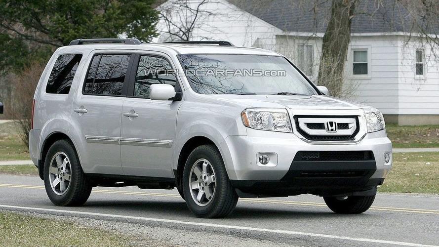 2009 Honda Pilot Spied in the Buff