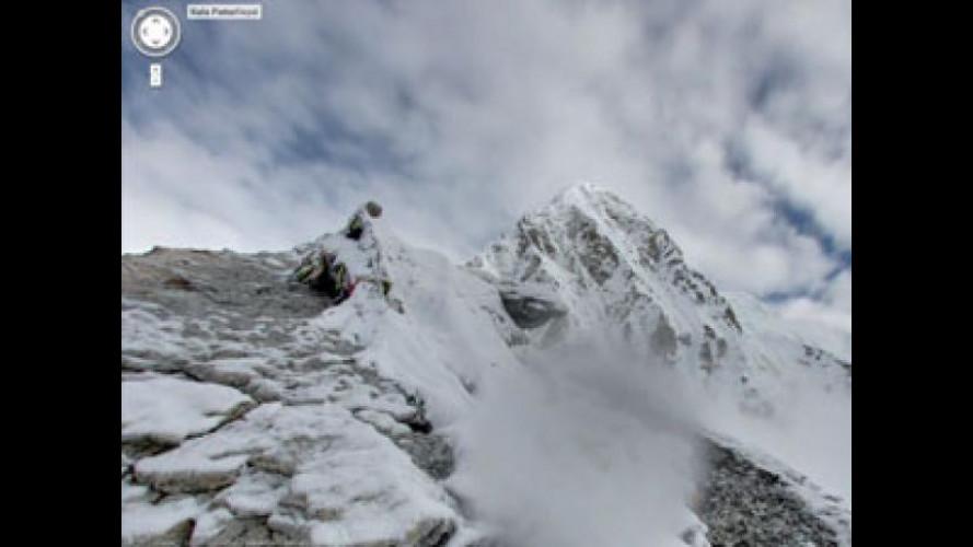 Google Street View è arrivato sull'Everest