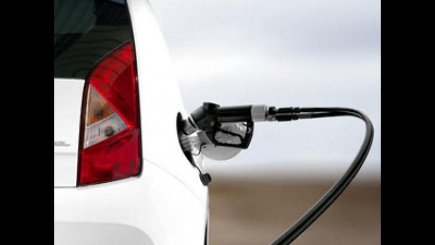 Auto a metano: aumentano i distributori
