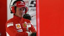 Schumacher and Raikkonen Finally Head to Head in Equal Cars