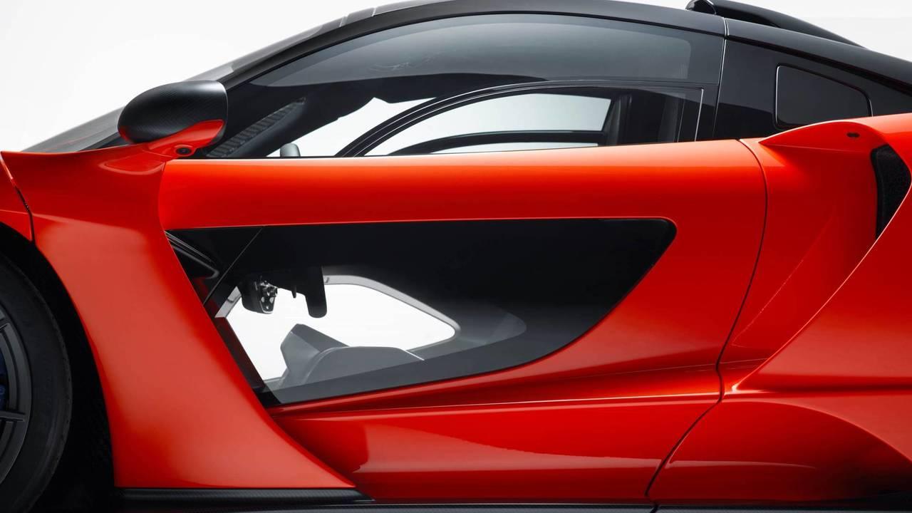 2018 McLaren Senna - Glazing Panel In The Door