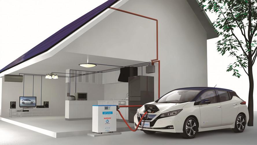 Nissan, tre nuove elettriche e 5 ibride entro il 2022