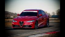 Alfa Romeo Giulia, la Quadrifoglio si guida in pista