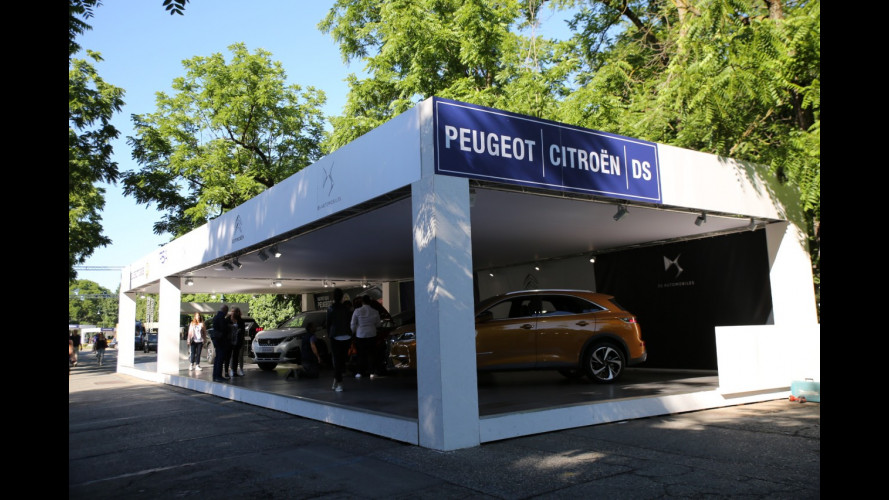 Peugeot a Parco Valentino 2017