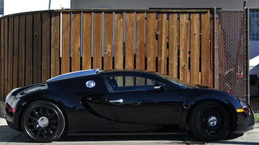 Jet Black Bugatti Veyron for Sale on eBay