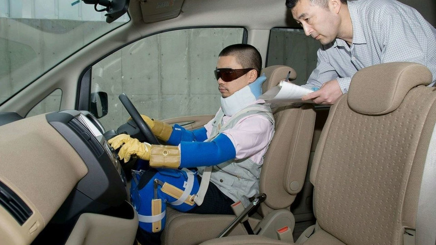 Nissan Engineers use Special Suit to Simulate the Elderly