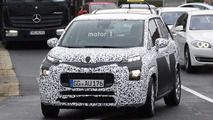 New Citroen C3 Picasso spy photo