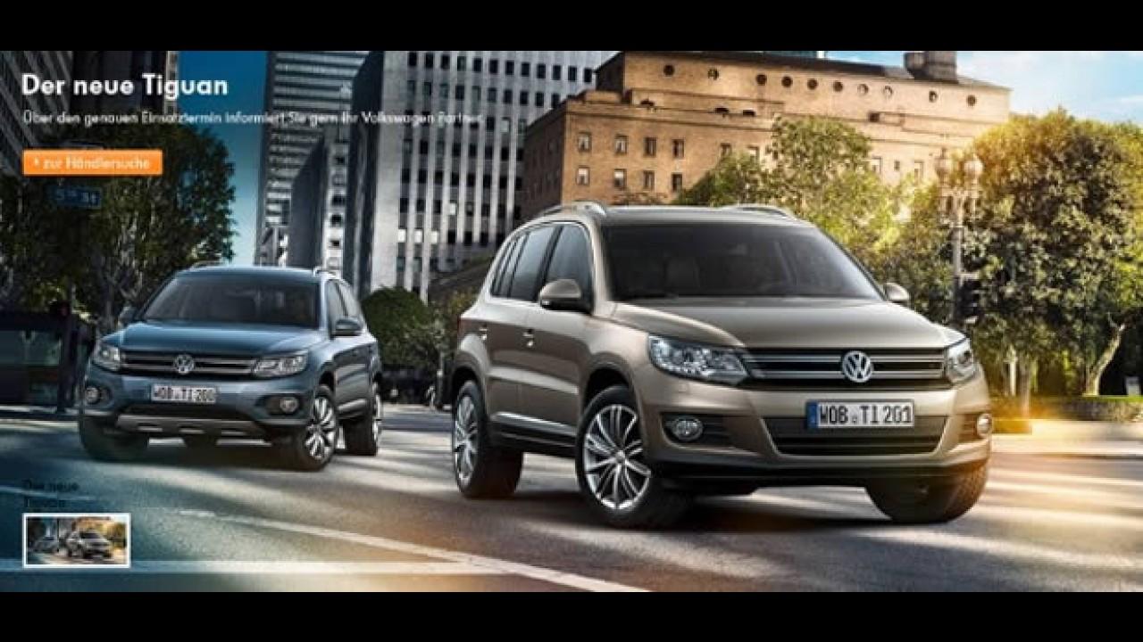Vazamento oficial: Novo Tiguan 2012 aparece no site da VW na Alemanha