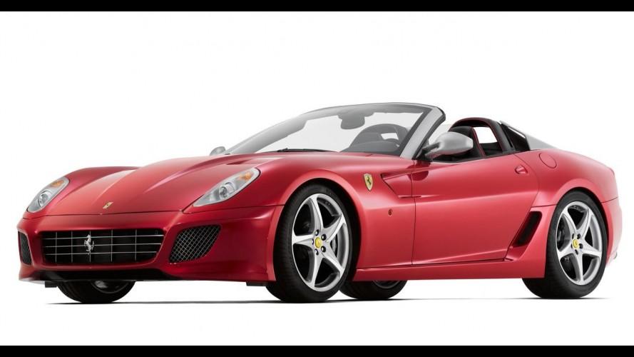 Ferrari revela a 599 SA Aperta 2011 - Motor V12 tem 670cv