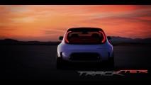 Kia divulga nova foto do conceito Track'ster