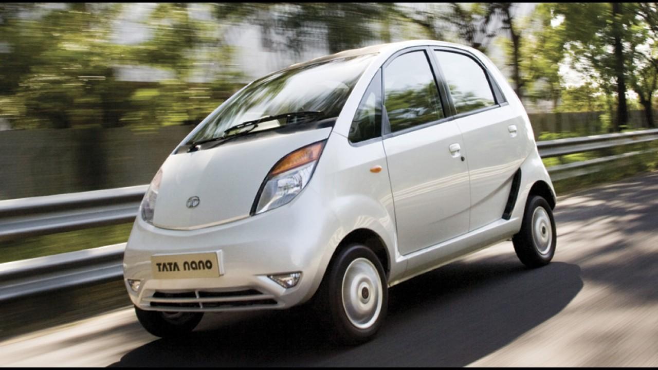 Tata promete iniciar vendas do subcompacto Nano nos Estados Unidos em 2015