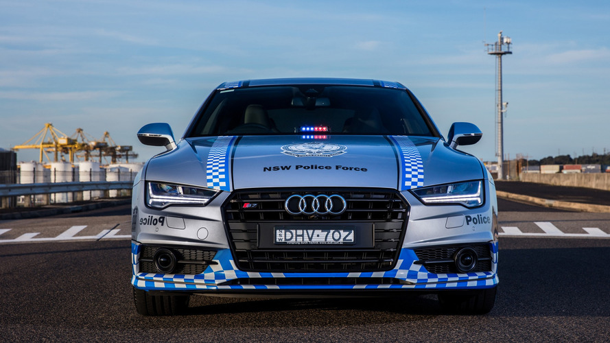 Audi S7 Sportback For NSW Police Force ...