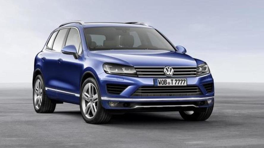 2015 Volkswagen Touareg facelift revealed ahead of Beijing Motor Show debut