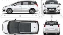 2014 Peugeot 5008 facelift 26.08.2013