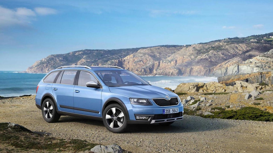 Skoda Octavia Scout revealed with off-road looks, all-wheel drive and high ground clearance