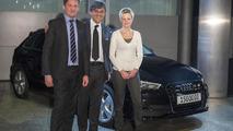 Audi A3 Sportback being delivered 16.12.2013