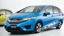 2014 Honda Fit / Jazz leaked photo 28.6.2013