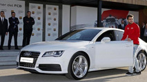 Cesc Fábregas and Audi A7 3.0 TDI