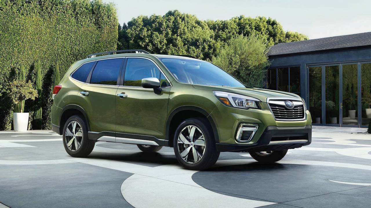 2019 subaru forester  see the changes side