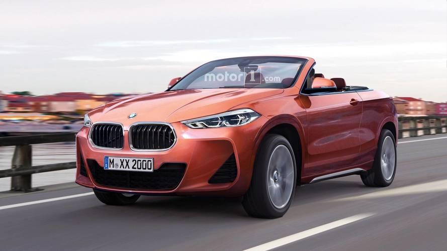 La BMW X2 imaginée en cabriolet