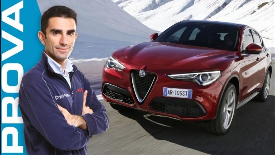 Alfa Romeo Stelvio, la prova del 2.2 diesel da 210 CV [VIDEO]