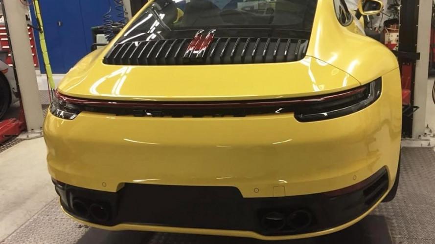 Nuova Porsche 911, possibile avvistamento senza veli