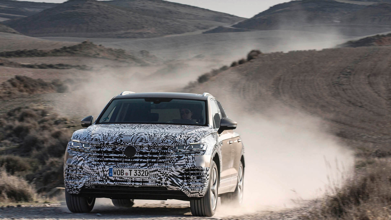 Neuer VW Touareg: Er ist fast fertig