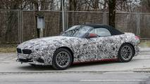 2019 BMW Z4 daha az kamuflaj