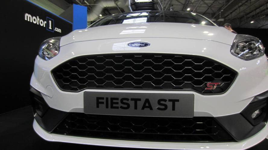 2018 Ford Fiesta ST makes UK debut on Motor1.com stand