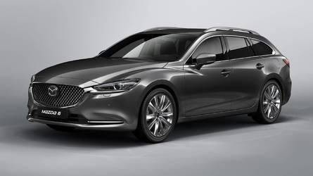 Mazda6 Wagon 2018, el restyling también llega al familiar