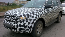 2015 Ford Everest spy photo