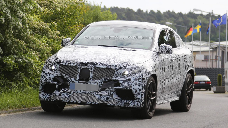 2016 mercedes benz ml 63 amg coupe spied for the first time for Mercedes benz x6 for sale