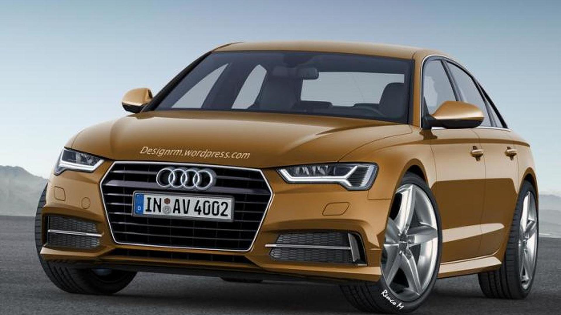Audi A Rendered With Evolutionary Styling - Audi new model 2016