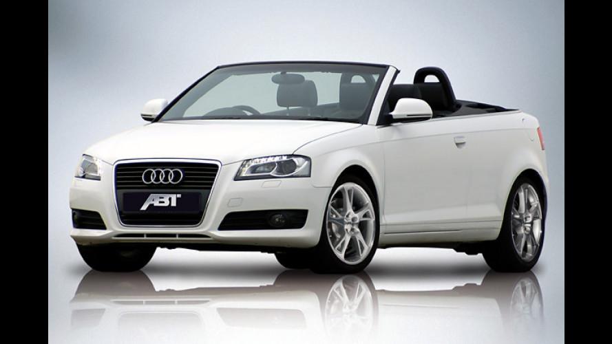Allgäuer Kraft-Kur: Abt powert das neue Audi A3 Cabrio