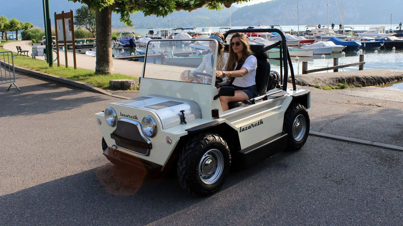 France S Amphibious Mini Moke Is No Joke