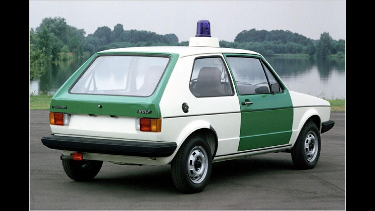VW Golf I Polizeifahrzeug