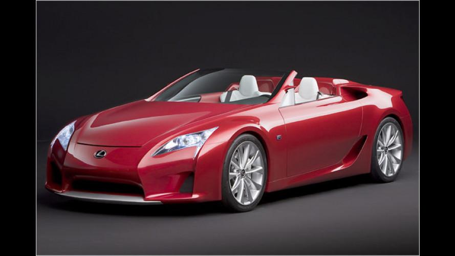 LF-A Roadster: Offener Supersportler à la Lexus