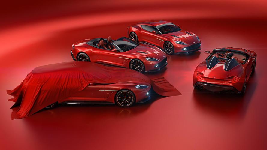 Aston Martin Vanquish Zagato ailesi genişliyor