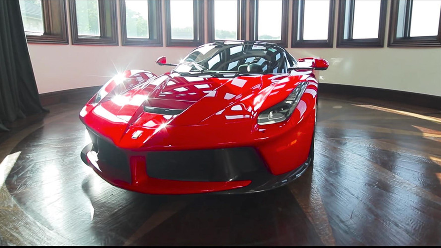 Watch These Guys Detail A LaFerrari In The Coolest Garage Ever