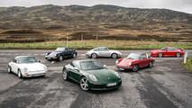 Porsche színkavalkád