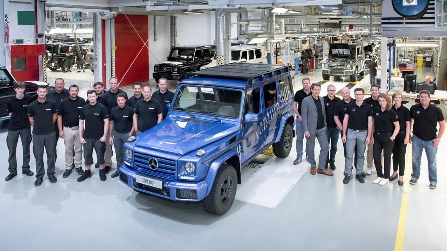 300,000 bininci Mercedes G-Serisi üretildi