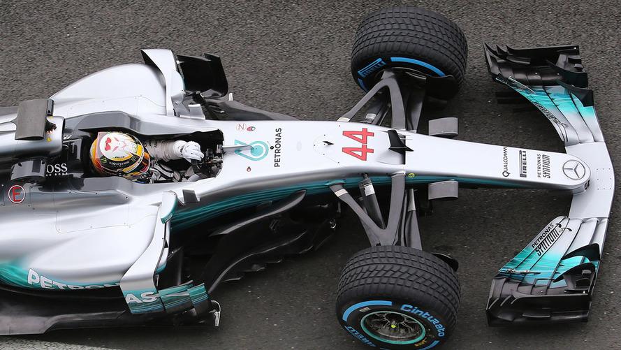 Mercedes 2017 F1 car